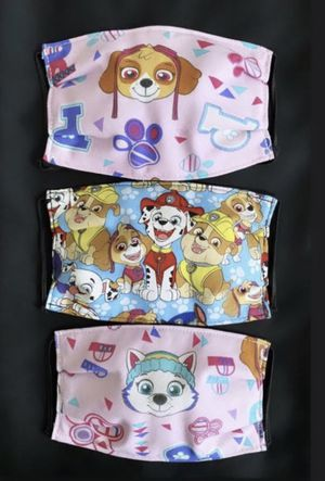 Child Face Mask Paw Patrol Set of 3 for Sale in Phoenix, AZ