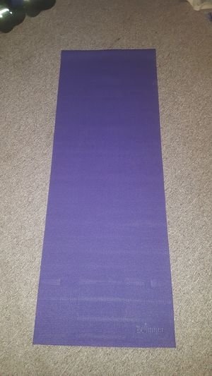 BOLLINGER YOGA MAT 24 X 68 INCHES 4 MM. for Sale in Everett, WA