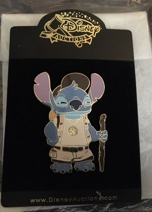 Disney Auctions Stitch Earth Day Jumbo pin for Sale in Fort Lauderdale, FL