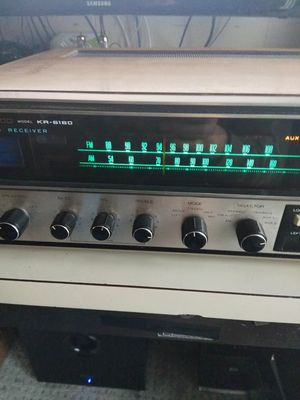 VANTAGE KENWOOD KR--6160 STEREO RECEIVER for Sale in Hacienda Heights, CA