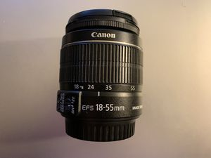 Canon 18-55 mm Lenses for Sale in Washington, DC