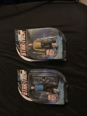 Captain Kirk and Mr. Spock action figure for Sale in Portland, OR