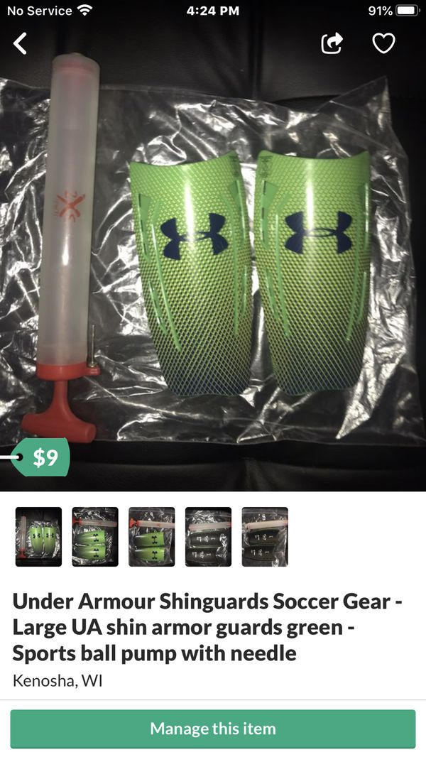 Tide buzz stain / spot remover by Black & Decker - 3 New Eddie Bauer Bags - UA shinguards - Pump with needle