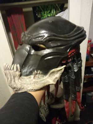 Bid alien vs predator mask for Sale in Riverside, CA