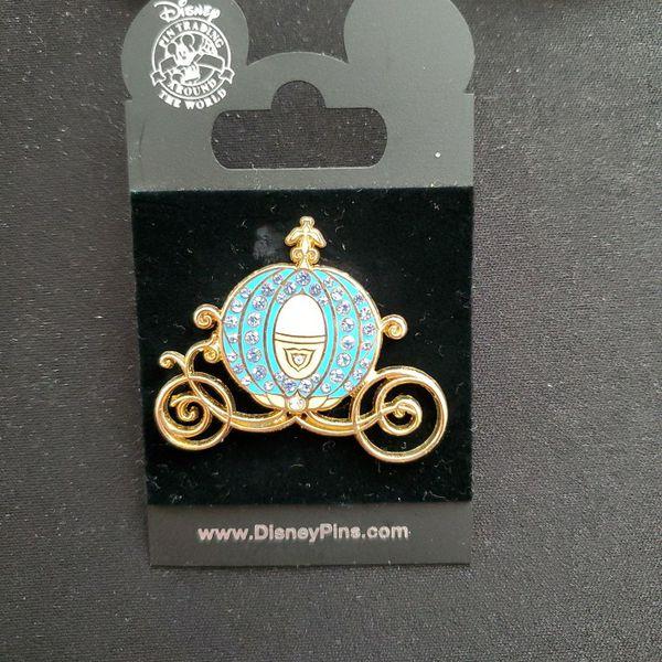 Cinderella Jeweled Coach Disney Pin