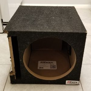 Ported Subwoofer box 11.5 inch cutout for Sale in Aurora, CO