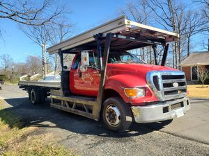 2006 ford f650 3 cars flatbed for Sale in Lanham, MD