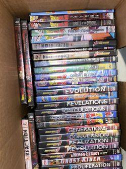 45 Dragon Ball Z Dvds for Sale in Sacramento,  CA