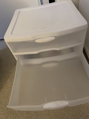 3 Drawer Plastic Organizer for Sale in San Jose, CA