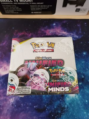 Pokemon Unified Minds Booster Box for Sale in White Marsh, MD