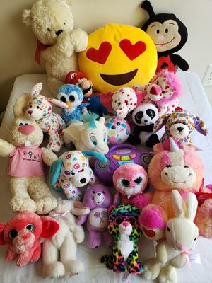Lot of Various Stuffed Animals for Sale in Greater Landover, MD