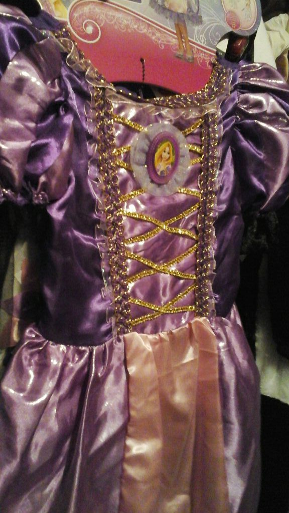 Rapunzel Halloween dress costume