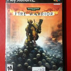 PS2 Fire Warrior *complete Warhammer for Sale in Henderson, NV