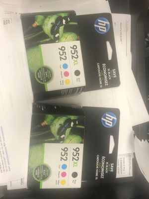 952 952xl ink combo pack for HP Printer for Sale in Houston, TX