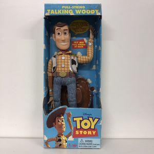 1995 Pull-String Vintage Talking Woody Pawn Shop Casa de Empeño for Sale in Vista, CA