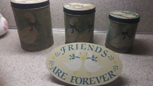 Tin Duck Canisters for Sale in North Little Rock, AR