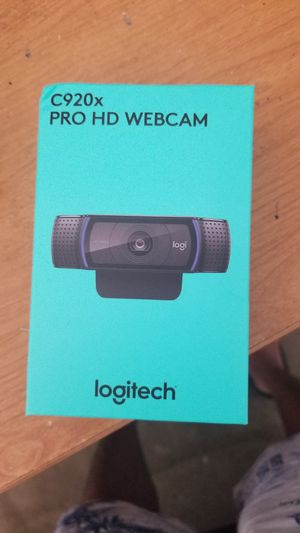 Webcam c920x for Sale in Naperville, IL