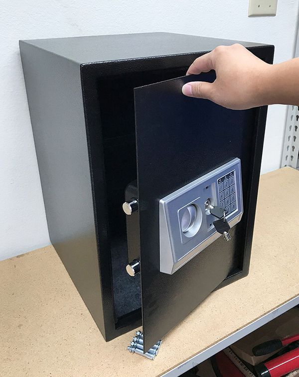 "(NEW) $85 Large 14x14x20"" Digital Security Safe Box Electric Keypad Lock w/ Master Key"