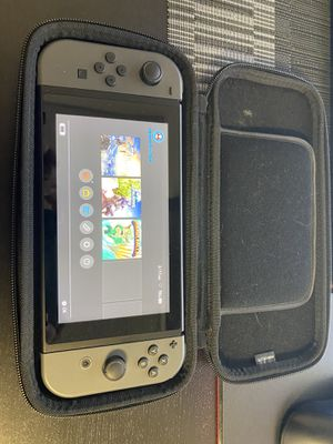 Nintendo Switch 32gb Gray with case, grips, Zelda for Sale in Whittier, CA