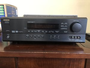 ONKYO 5.1 Channel Receiver (Brand new in box with remote and manuals) for Sale in San Diego, CA