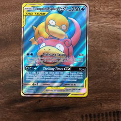 Slowpoke And Psyduck Gx Full Art Pokemon Card for Sale in Chino Hills, CA