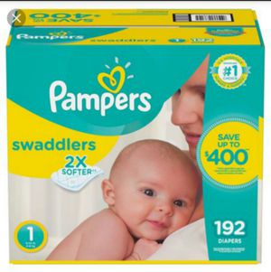 Pampers size 1 for Sale in Pembroke Pines, FL