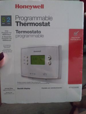 Honeywell Programmable Thermostat for Sale in Lowell, MA