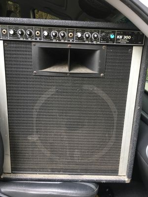 This is an awesome three channels keyboard amplifier that can be used for bass and guitar as well and sounds great for Sale in Raleigh, NC