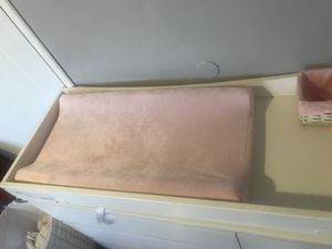 Changing table topper w pad for Sale in Richmond, CA