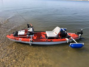 Motorized kayak. for Sale in Dallas, TX