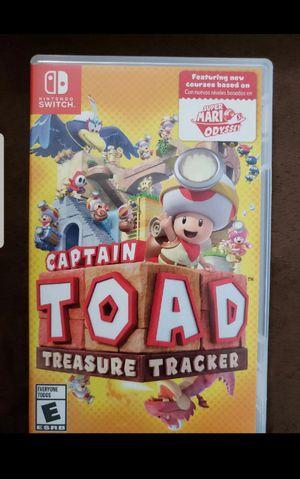 Captain Toad Treasure Tracker Game for Sale in DORCHESTR CTR, MA