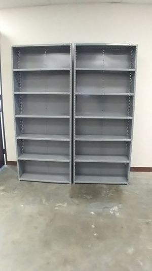 OFFICE/HOME METAL SHELVES (7×3)ft for Sale in Houston, TX