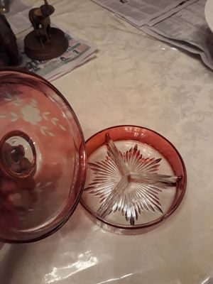 Beautiful antique candy dish it's probably something you seen on your grandmother's dining room table it's really nice very valuable for Sale in Jacksonville, FL