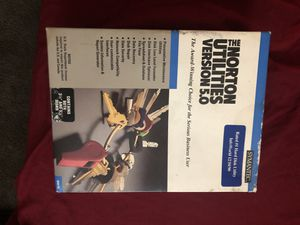 Symantec The Norton Utilities 1991 Data Recovery Protection DOS 5.0 (open box) for Sale in Columbus, OH