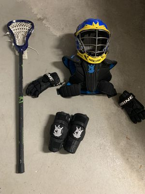 LACROSSE EQUIPMENT USED ONCE for Sale in Andover, MA