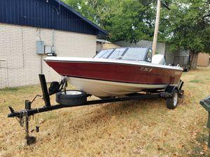 1984 sunbird fishing/ski boat for Sale in San Antonio, TX