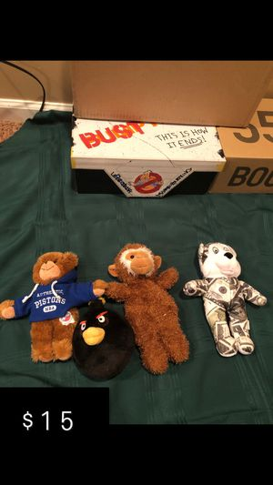 Stuffed animals for Sale in Waterford Township, MI