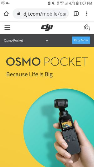 DJI Osmo Pocket handheld camera for Sale in San Diego, CA
