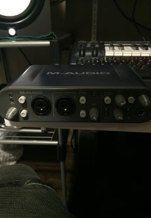 M-Audio Fast-Track PRO Interface for Sale in Freeport, IL
