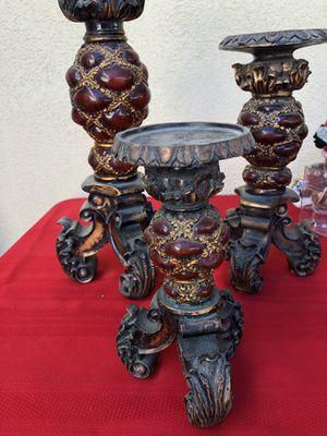 Three Beautiful candlesticks! for Sale in Huntington Beach, CA