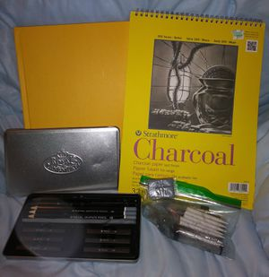 Strathmore & Royal Langnickel Charcoal Drawing Set for Sale in Burien, WA