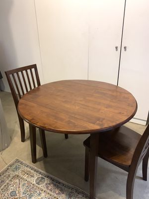Dining table w/ 3 chairs for Sale in Boston, MA