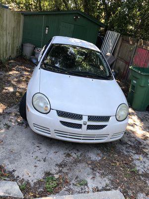 White 2004 Dodge neon for Sale in Orange City, FL