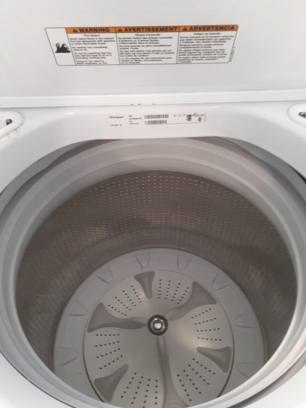 Whirlpool tap load washer and electric dryer good condition 90 days warranty