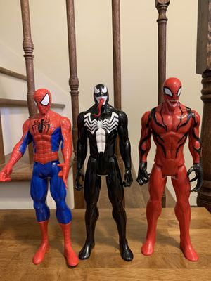 Spiderman Action Figures for Sale in Smithfield, RI