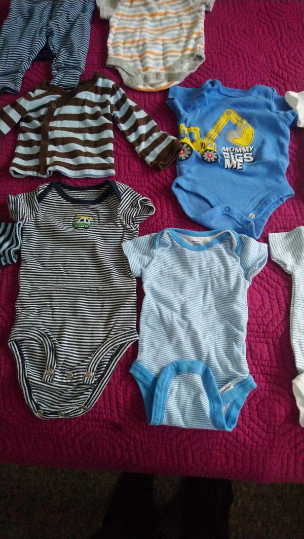 Newborn baby boy clothes 0-3 months