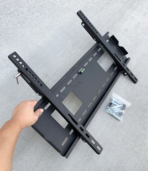 """(NEW) $25 Large TV Wall Mount 50""""-80"""" Slim Television Bracket Tilt Up/Down, Max 165lbs for Sale in El Monte, CA"""