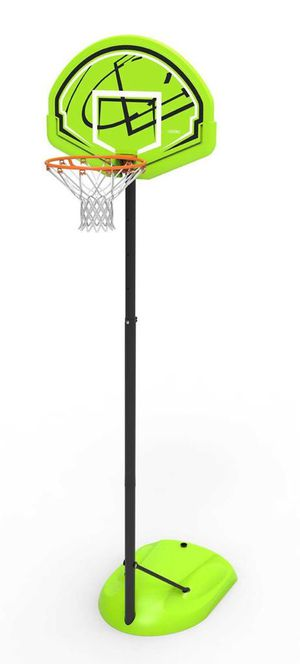 New in Box Lifetime Adjustable Youth Portable Basketball Hoop, green, 90908. Retails $70 for Sale in Norfolk, VA