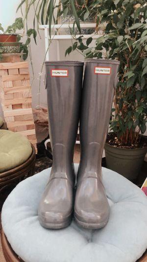 Women's Hunter rain boots for Sale in Reno, NV