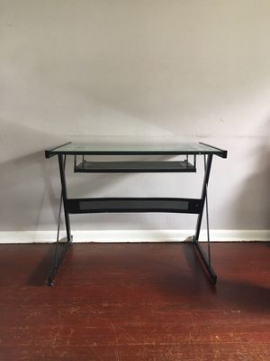 Glass desk for Sale in Columbus, OH